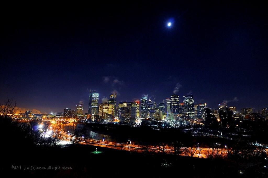 Skyline Moon