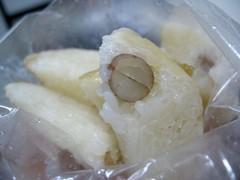 large intestine (wrap) + grains + peanuts