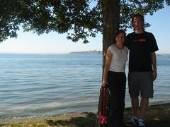 Me and Zach on Alki Beach
