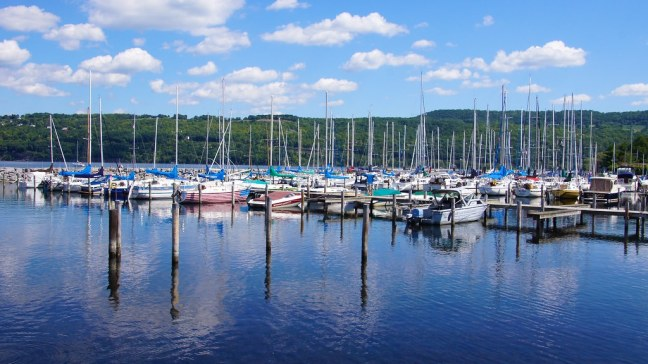 Harbor on Seneca Lake