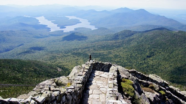 View of Lake Placid from Whiteface Castle