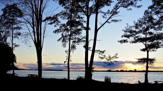 Saint Lawrence River at Coles Creek State Park