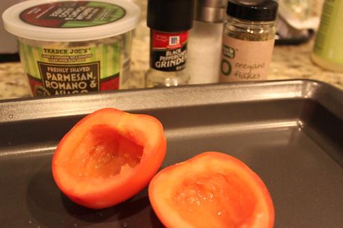 Roasted Parmesan Tomato