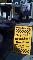 Food Truck Breakfast for @foodcabbie