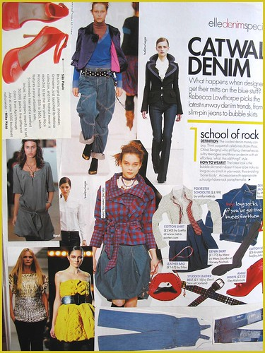 fashion scrapbook page 4