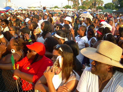 Crowd at the Caribbean Seabreeze