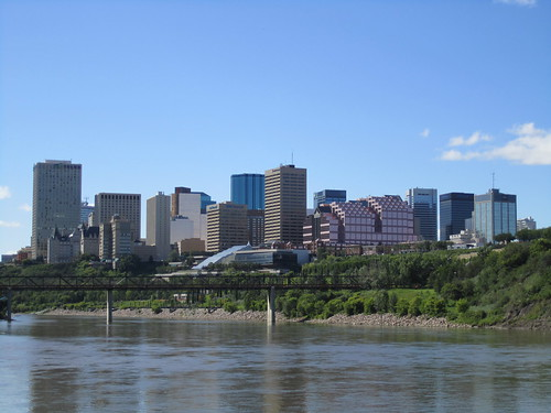 On the Edmonton Queen