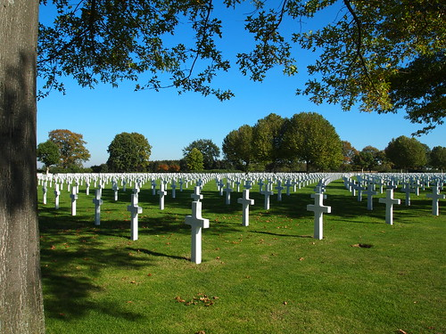 Netherlands American Cemetary and Memorial