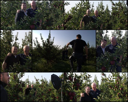 Portrait Shots at Wilmot Orchards