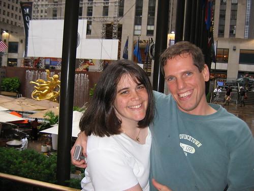 Karen and Patrick at Rockefeller Ctr