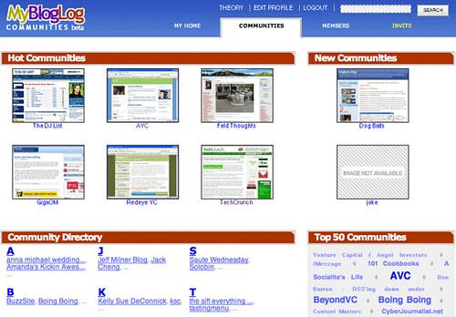 MyBlogLog: Blog Communities