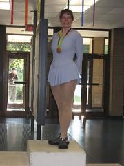 Stephanie, gold medal winner