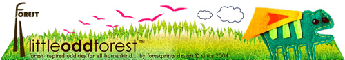 Forestprints Design - Little Odd Forest: Adorable Budget Finds