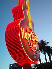Hard Rock Cafe at the Hard Rock Hotel, Vegas