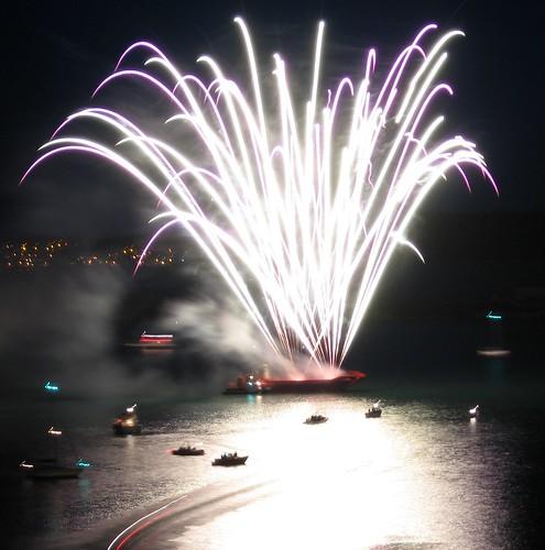 Cobh Regatta Fireworks