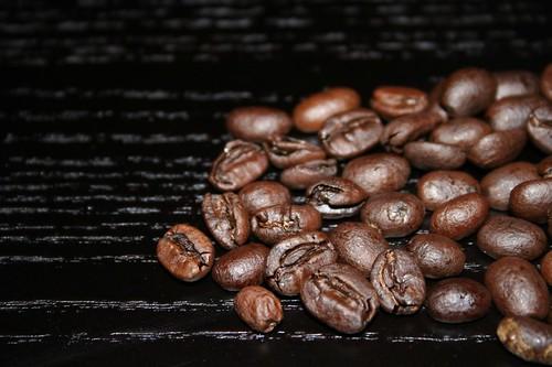 brown on black