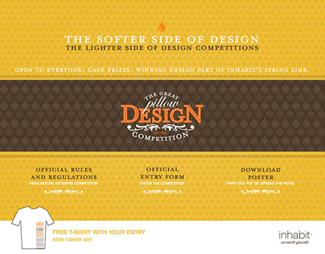 Inhabit: The Great Pillow Design Competition