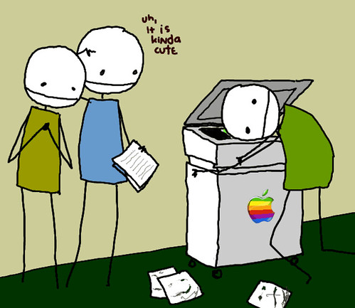 Peter and Apple's Copymachine