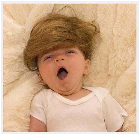 Baby toupee