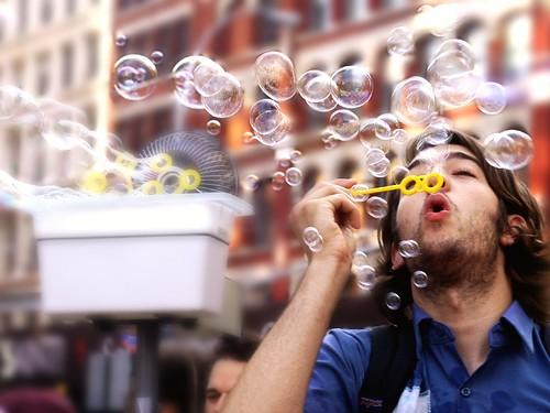 The Bubble Blower