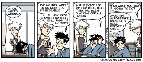PhD: Piled Higher and Deeper