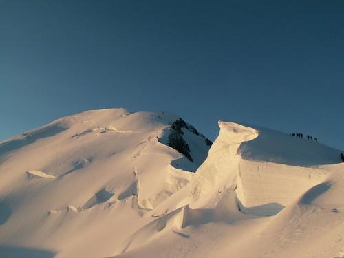 Les Bosses y el Mont Blanc