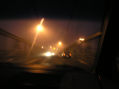 Across the Foggy Bridge
