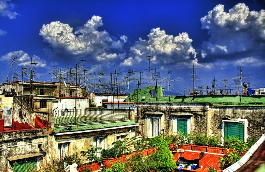 The Rooftops of Napoli