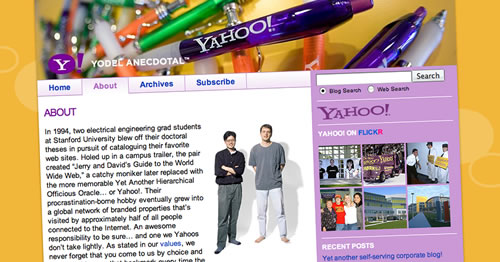 Introducing Yodel Anecdotal: The Yahoo! Corporate Blog