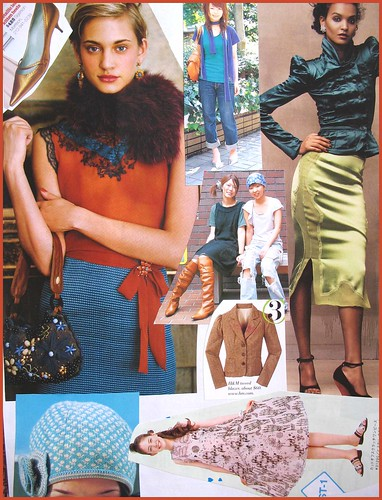 fashion scrapbook page 14