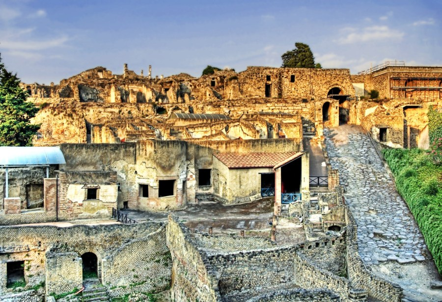 The Entrance to Pompei
