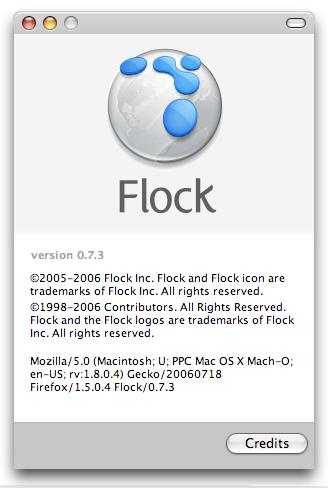 Flock 0.7.3