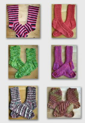 Six Pairs of Socks in July