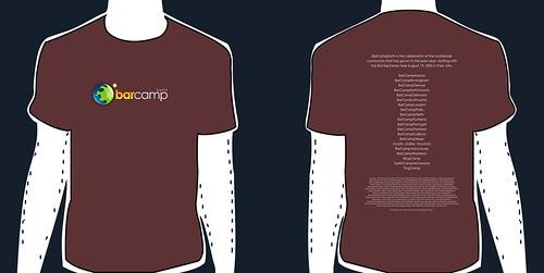 BarCampEarth Tshirt (draft v1)