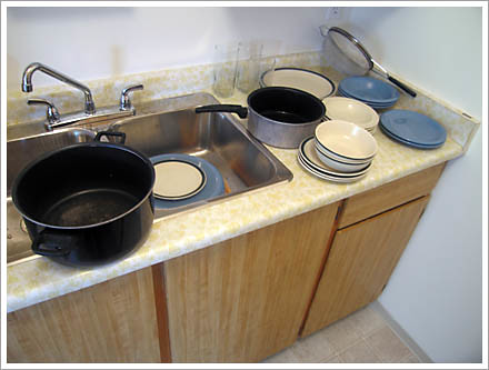 Pots and plates