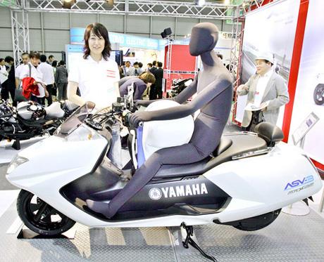 Yamaha airbag