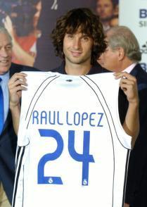 Rául Lopez presentado.