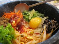korean stone pot rice