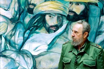 Fidel Castro in Havana, Cuba 1 May 2006