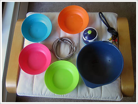 Bowls and Cables