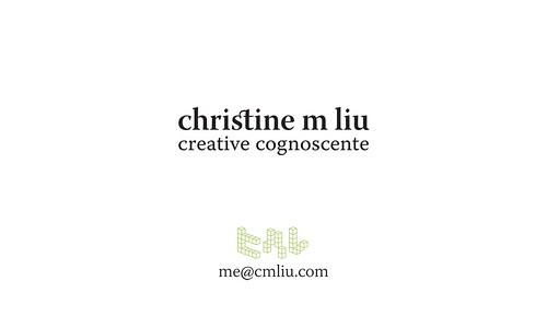 i am the creative cognoscente