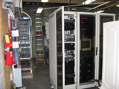 Rack Servers in Cabinet