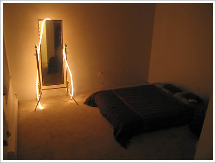 Bed and Mirror Lights