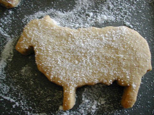 Shawn the shortbread sheep