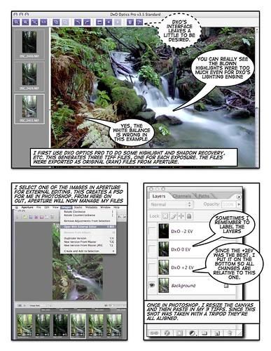 Digital Blending workflow with multiple exposures-2