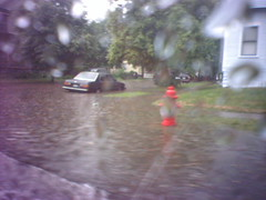 Moving during a flood