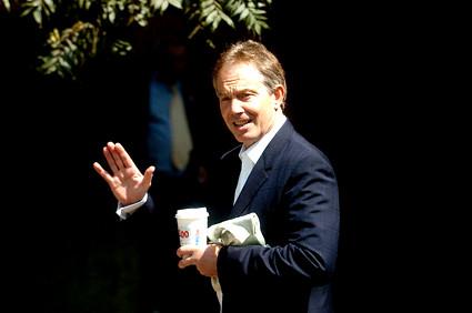 Tony Blair in California 26 July 2006
