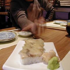 Pressed box sushi
