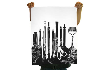 Imaginary Foundation Tools Limited Edition print