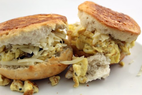 Egg Biscuit Sandwich